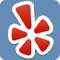 Yelp Com logo in blue